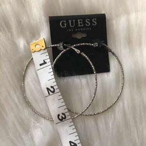 Guess Jewelry - Guess hoop earrings
